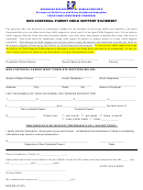 Non-custodial Parent Child Support Statement