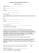 Record Release Form