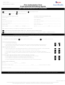 Prior Authorization Form Erythropoiesis Stimulating Agents