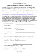 Complaint Of Judicial Misconduct Or Disability - Judicial Council Of The Ninth Circuit