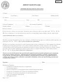 Certified Process Server Application Form - Judicial Council Of Georgia