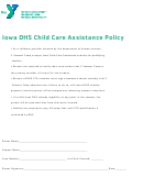 Iowa Dhs Child Care Assistance Policy