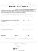 Clearance Form For Volunteer Work At St Lukes Roosevelt Hospital Center