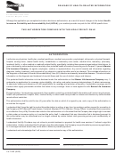 Release Of Health-related Information Form