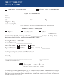 Direct Deposit Switch Form