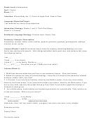 Family Kindergarten Worksheets