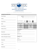 Nyc Hdc Rehabilitation Loan Application