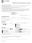 Member Medical Reimbursement Claim Form