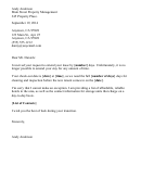 Lease Extension Rejection Letter Template