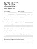 Training Enrollment Form