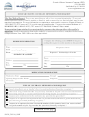 Medicare Part D Coverage Determination Request Form