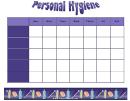 Personal Hygiene Schedule Template