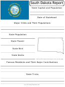 State Research Report Template - South Dakota