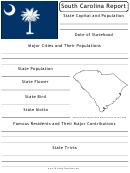 State Research Report Template - South Carolina