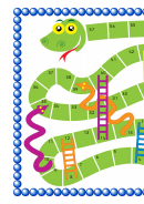 Sanke And Ladders Game Template