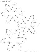 Poinsettia Sheet