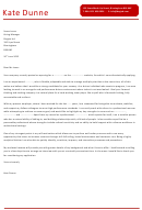 Sales Assistant Cover Letter Template