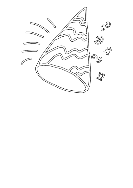 New Year Celebration Coloring Sheet