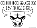 Coloring Sheet - Chicago Bulls