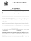 Form St-p-39 - Affidavit Of Exemption For Snowmobiles And Atv's