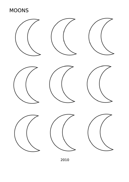 top moon templates free to download in pdf format