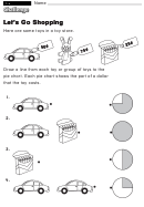 Let's Go Shopping - Challenge Worksheet With Answer Key