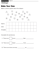 Make Your Own - Challenge Worksheet With Answer Key