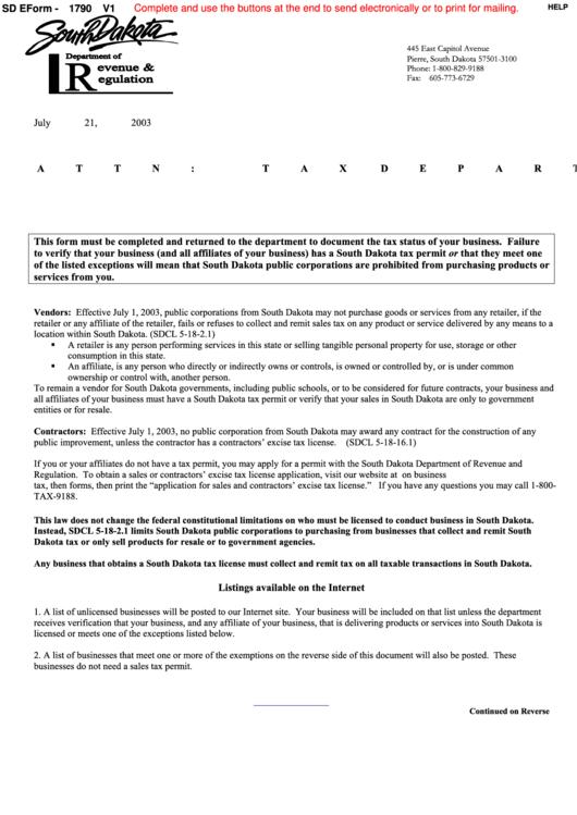 Fillable Vendor Letter Form Printable pdf