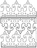 Foldable Princess Crown Template