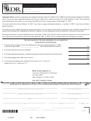 Form R-6470 - Application Form For Extension Of Time To File Louisiana Nonresident Professional Athlete Return - 2006