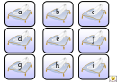 English Alphabet Card Templates