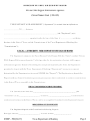 Form Corp - P06 - Deposit In Lieu Of Surety Bond Form