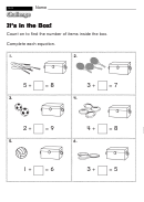 It's In The Box! - Challenge Worksheet With Answer Key