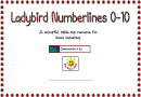 Laybird Numberlines 0-10 Chart
