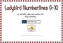 Laybird Numberlines 0-10 Chart