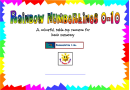 Rainbow Numberlines 0-10 Chart