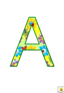 Minibeast A To G Letter Poster Templates