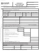 Form Rev- 832 - Aircraft Sales And Use Tax Return - Pennsylvania Department Of Revenue