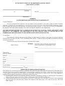 Summons Illinois Marriage And Dissolution Of Marriage Act Form - Lake County, Illinois
