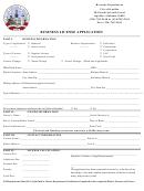 Business License Application Form - Alabama Revenue Department