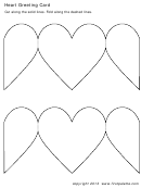 Heart Greeting Card Template
