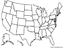 Usa Map Coloring Sheet