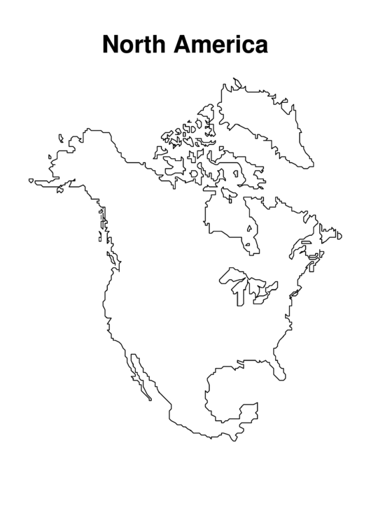 Top 27 world map coloring sheets free to download in pdf for North america map coloring page