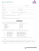 Skincare Treatment Form