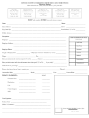 Community Service Report Form