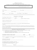 Health Care Provider Authorization And Parent/guardian Consent Form