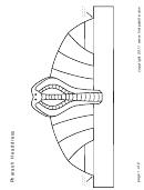 Blank Pharaoh Headdress Template