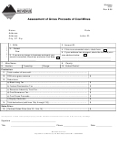 Form Cgp - Assessment Of Gross Proceeds Of Coal Mines - State Of Montana