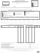 Form Ccf-5 - Authorization For Extra Pay