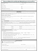 Parental/guardian Medical Information And Consent Form